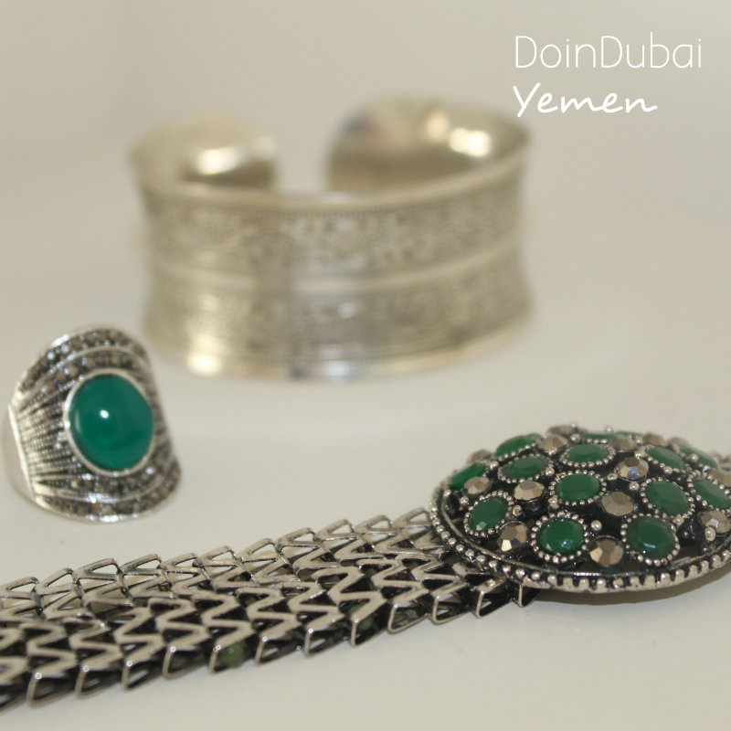 Global Village Yemen Jewellery