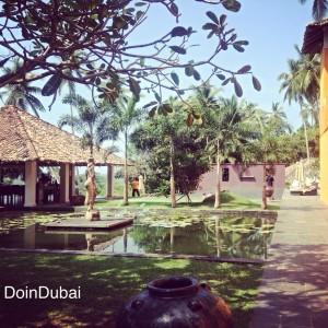 Pool Walkway Kahanda Kanda boutique hotel Sri Lanka