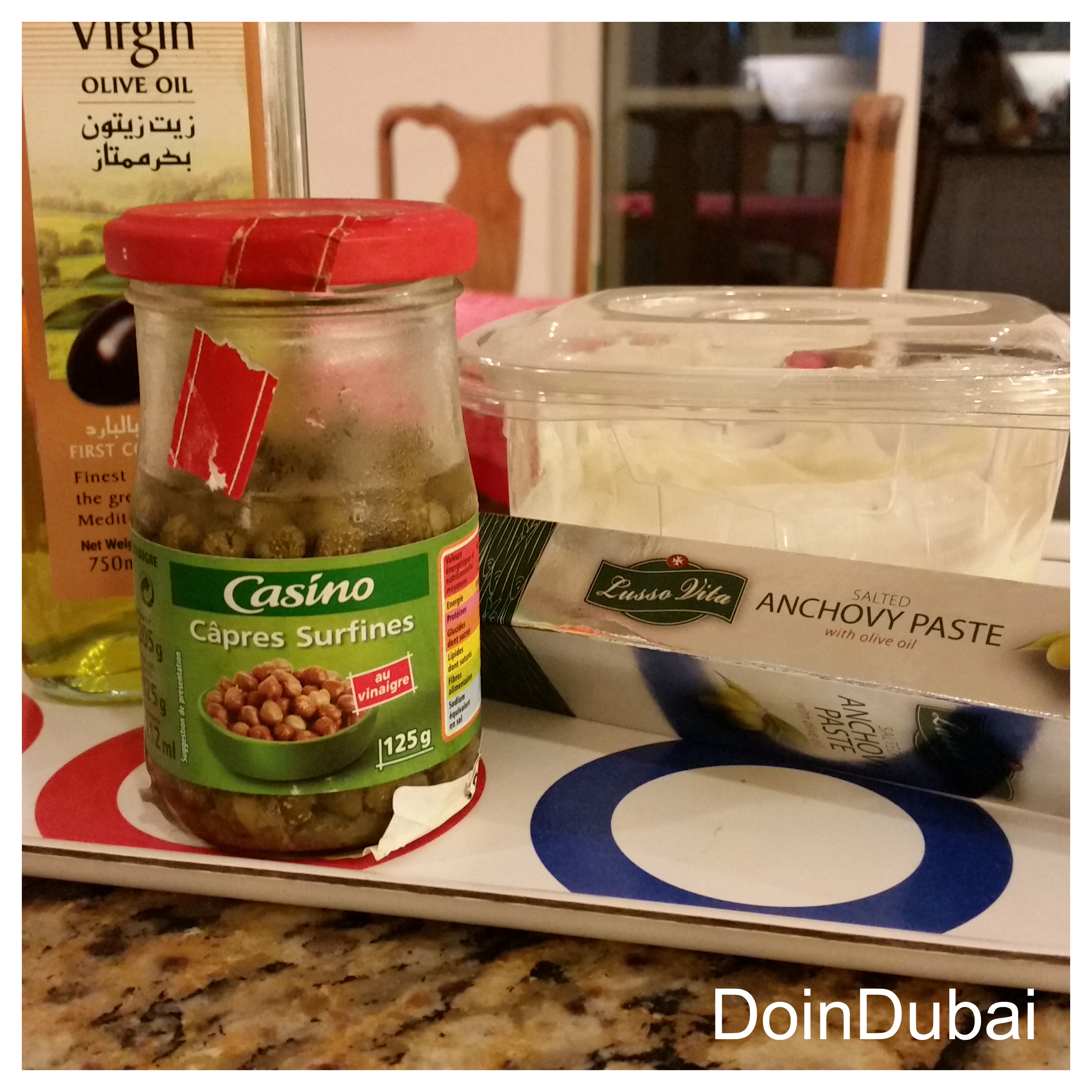 Add Capers and blend until paste like