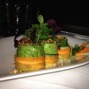 Fabulous vegetarian sushi