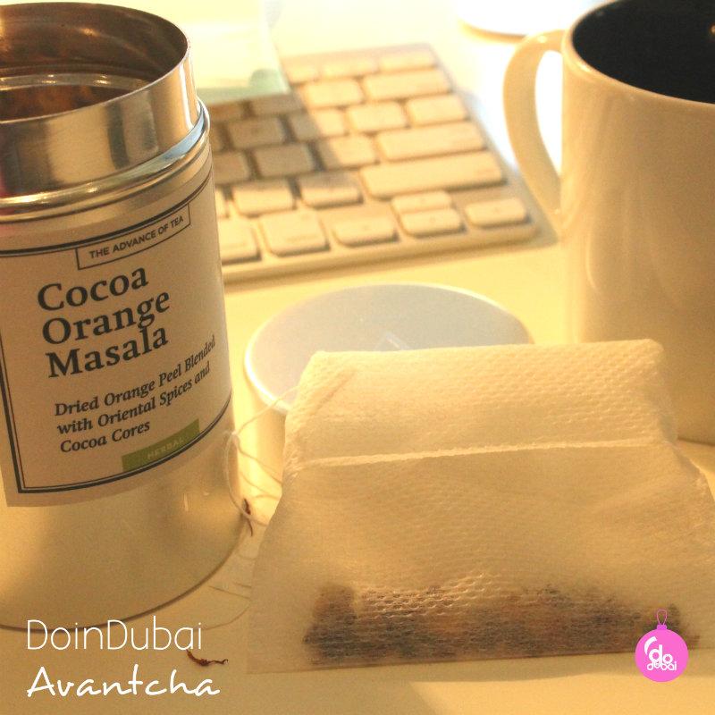 Avantcha tea with teabag and mug Edible Christmas Gifts DoinDubai