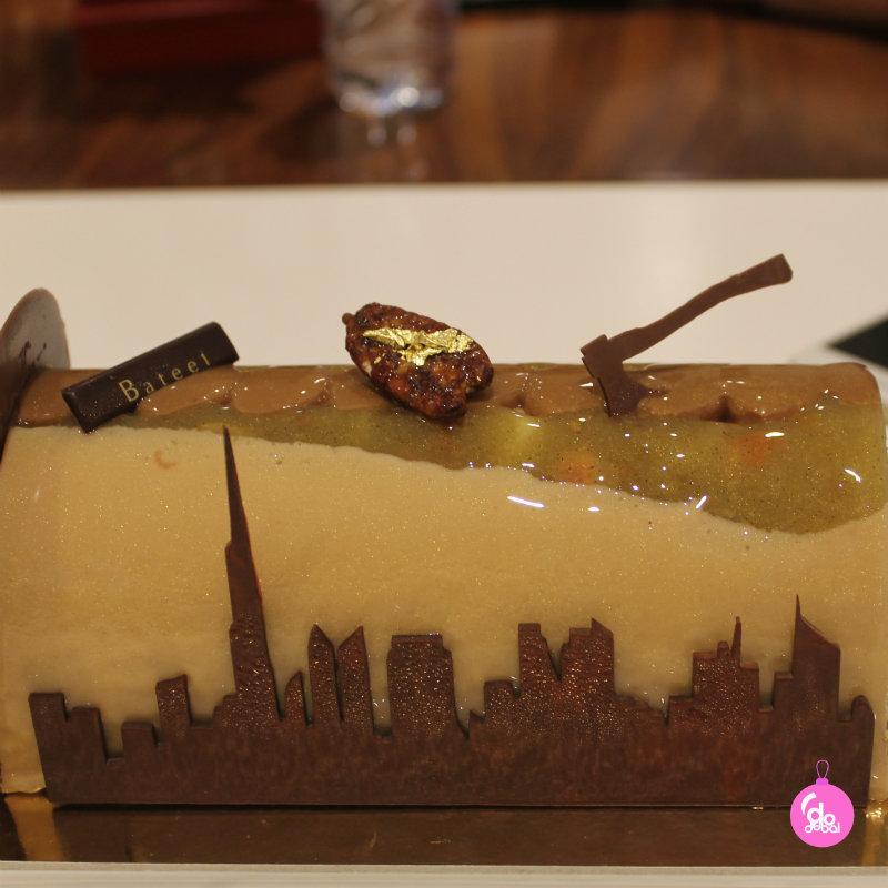 Bateel Chocolate Log Dubai Skyline Edible Christmas Gifts DoinDubai