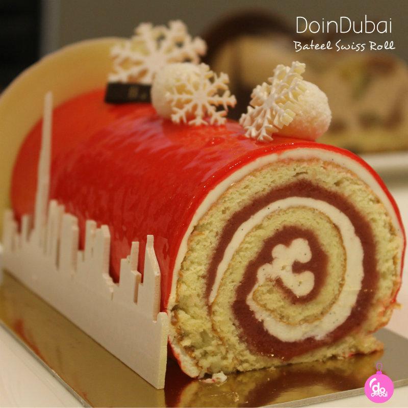 Bateel Swiss Roll 800 bauble Edible Christmas Gifts DoinDubai