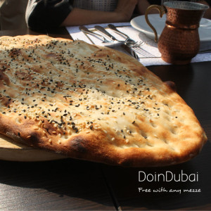 Saray Sultan Turkish bread DoinDubai Turkish Cafe