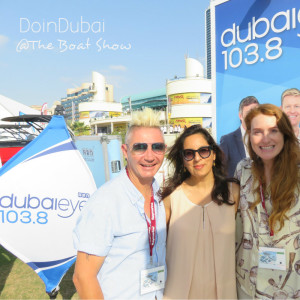 Where is The Ticket at the Boat Show DoinDubai