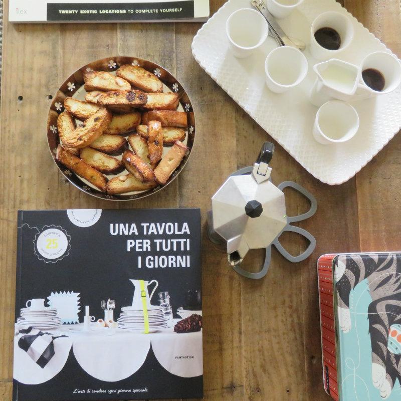 Italian Cooking class coffee break