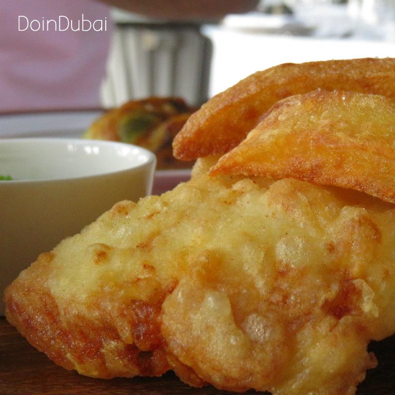Marina Social Brunch Fish and chips