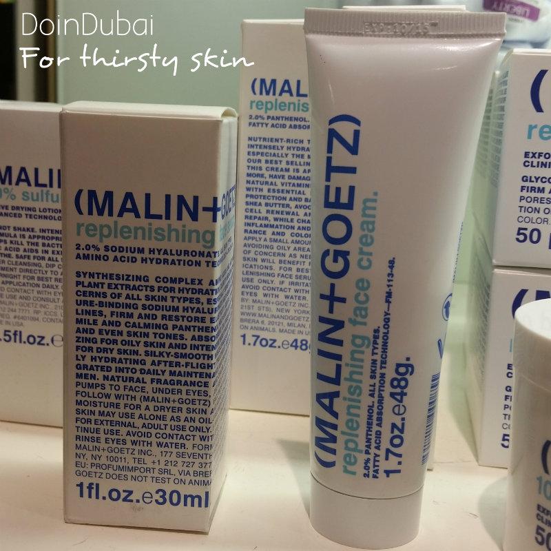 Malin and Goetz hydrating cream