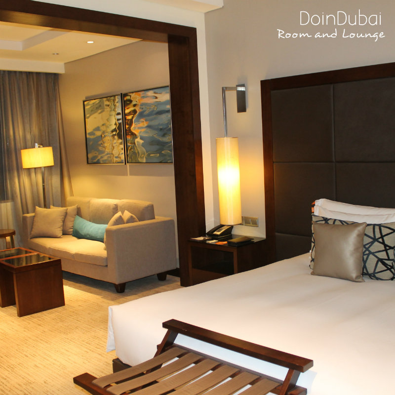Spacious accommodation at the Dusit in Nairobi