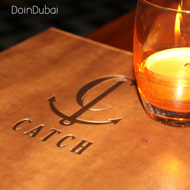 Catch Dubai Menu