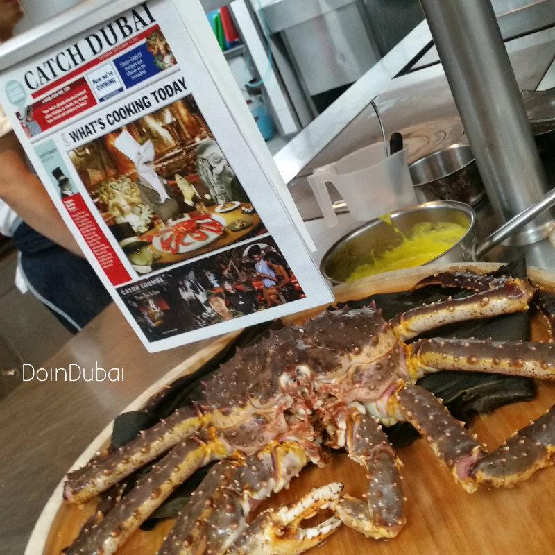 Catch Dubai Crab Cookery Class