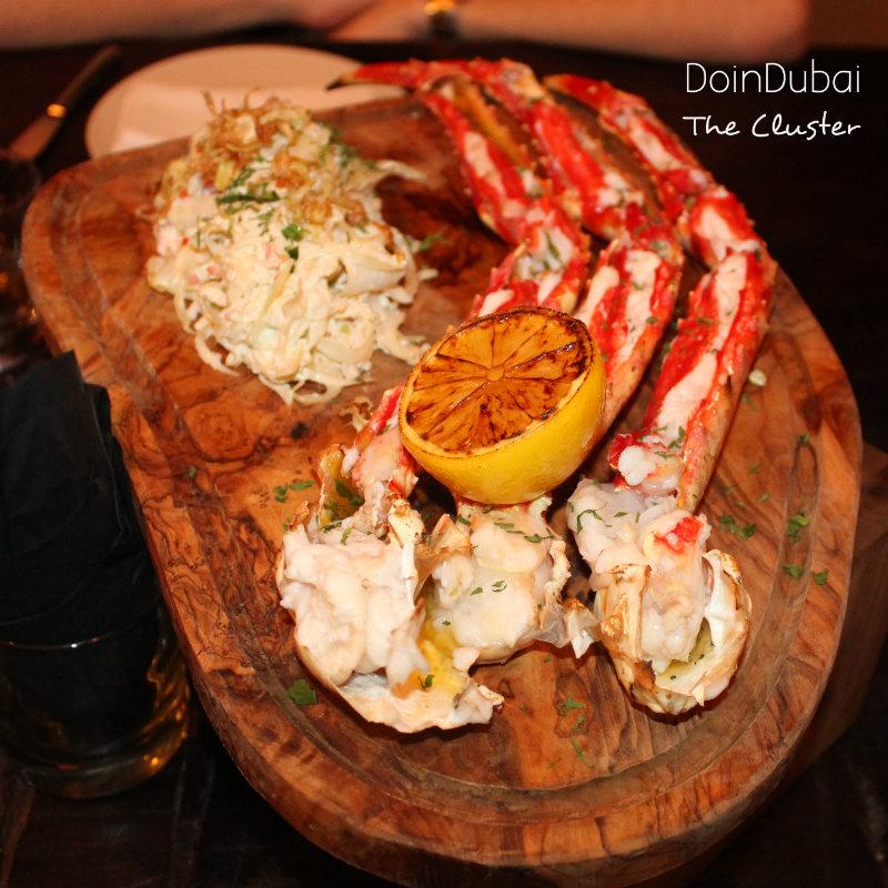Catch Dubai Crab Cluster