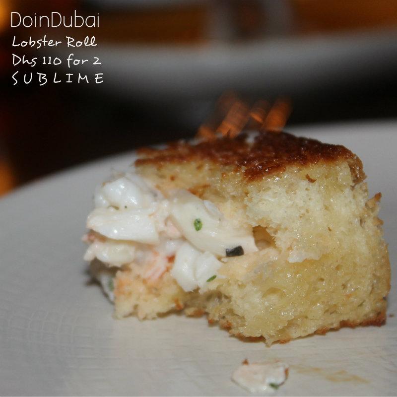 Catch Dubai Lobster Roll