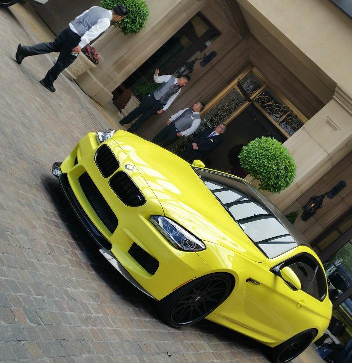 BMW Montage Visit California
