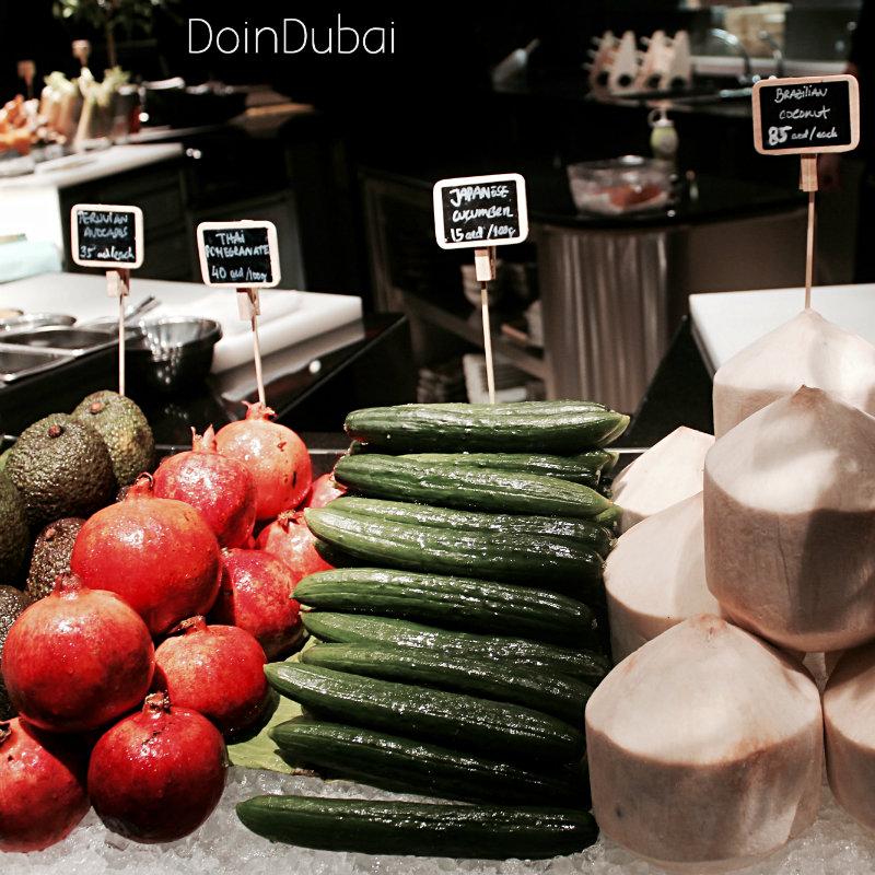 Novikov Dubai Vegetables 800