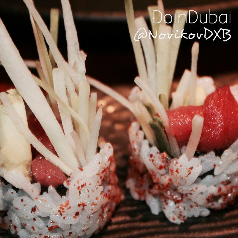 Food news Novikov Sushi