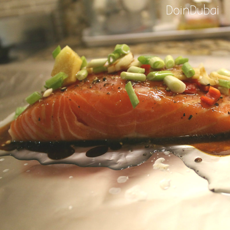 Multi Cooker Salmon