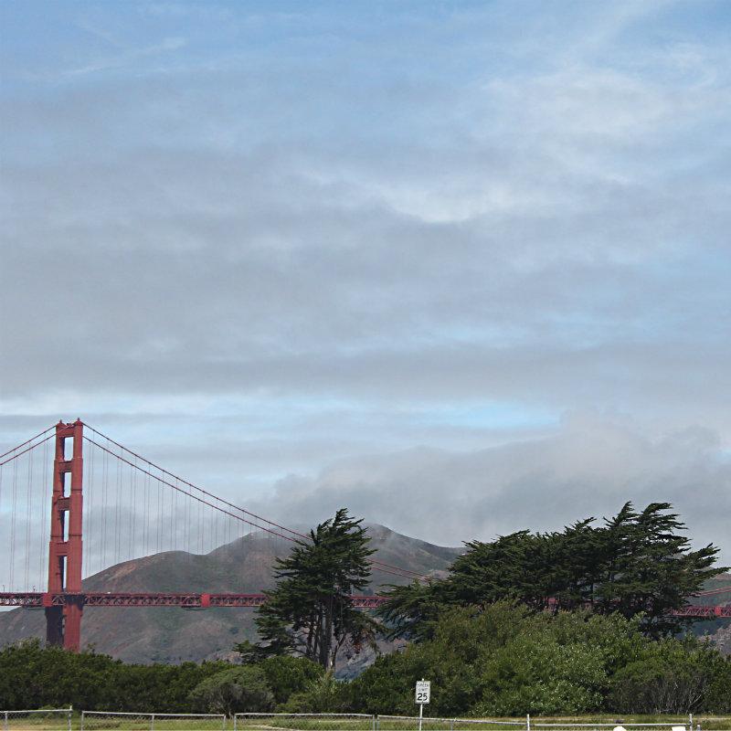 Golden Gate Bridge visit Calif