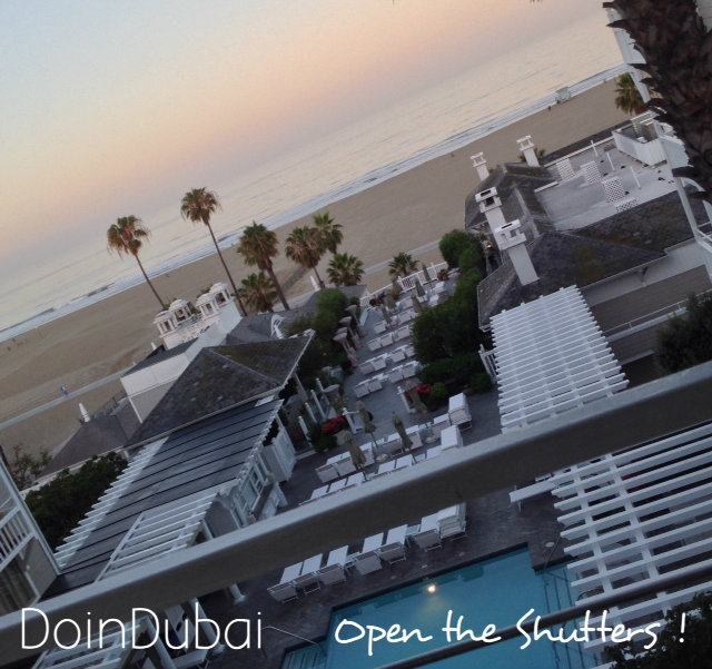 Shutters View Visit California
