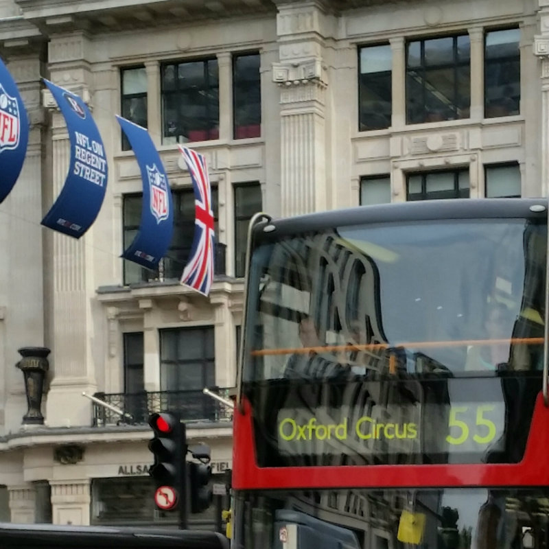 london bus Off to University