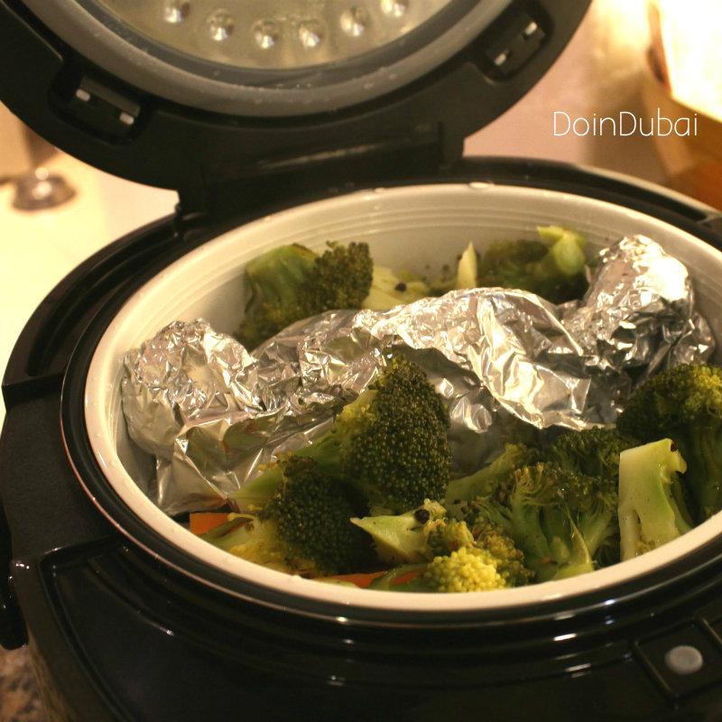 Multi Cooker veggies in basket DoinDubai