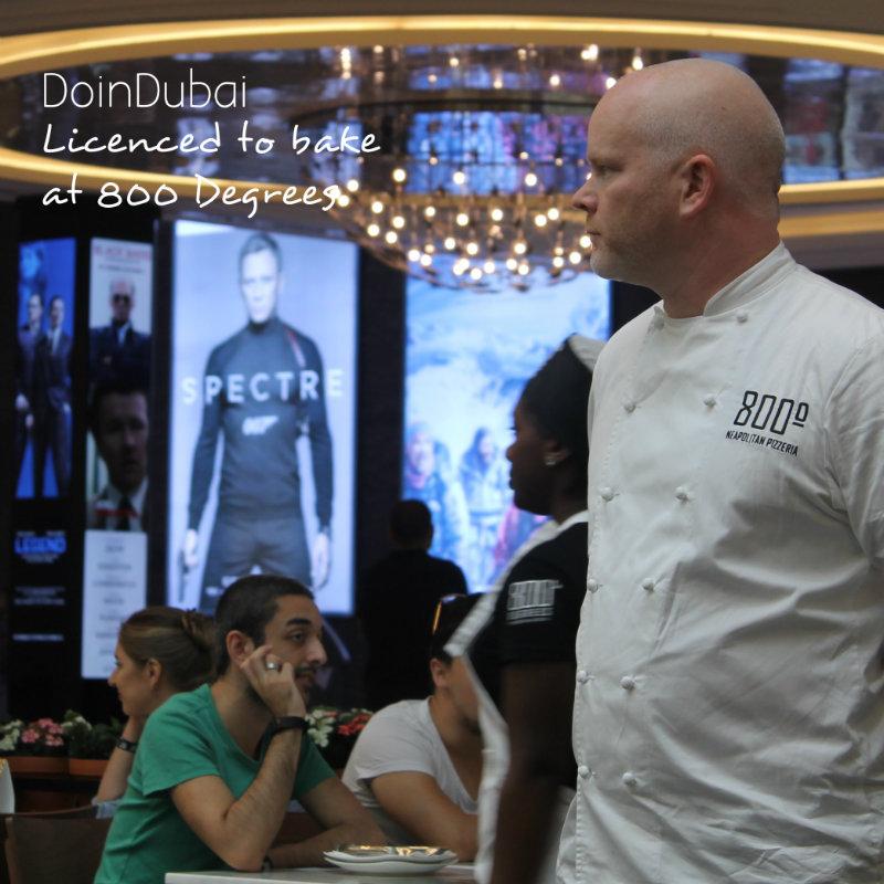 800 Degrees Chef Anthony Carron