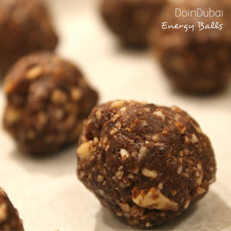 Energy Balls Recipe DoinDubai