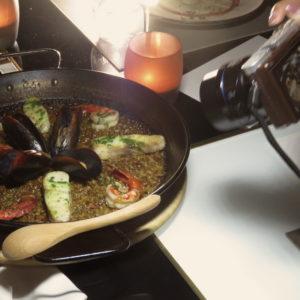 LaLuz Dubai Seafood Paella