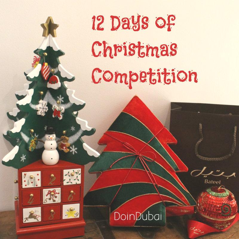 12 Days of Christmas Competition Edible Christmas Gifts DoinDubai