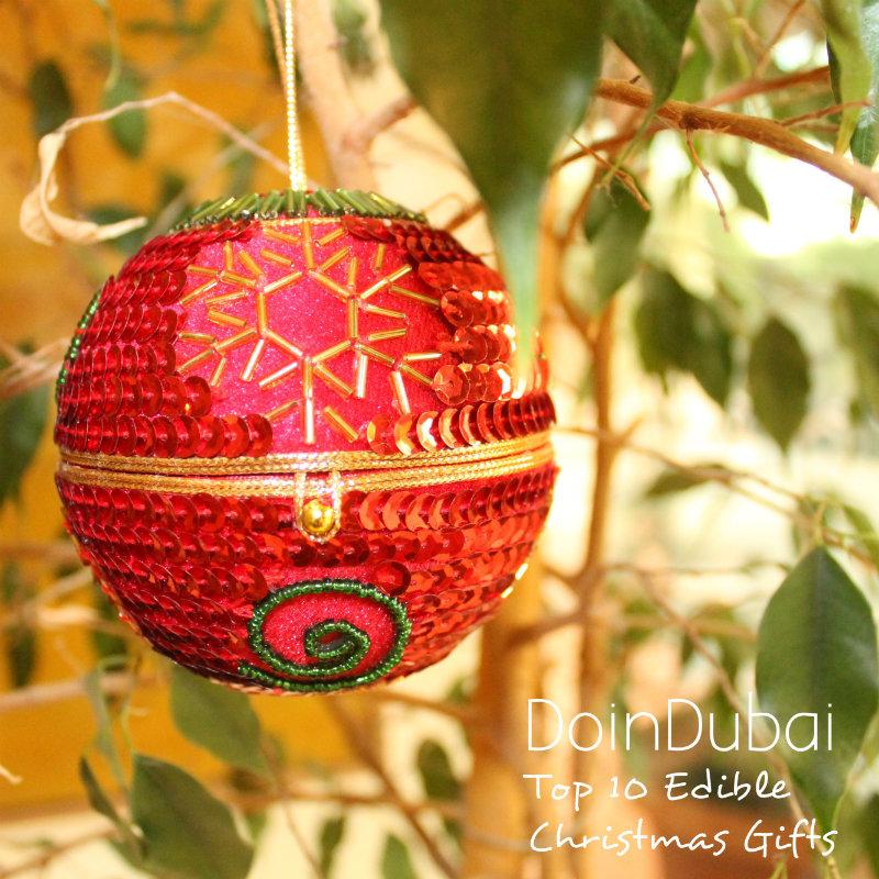 Bauble Top 10 Edible Christmas Gifts DoinDubai