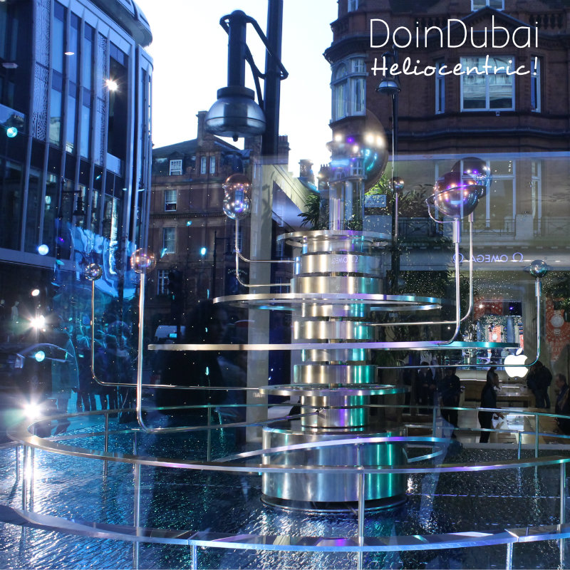 Christmas in London DoinDubai Orerry Model Universe