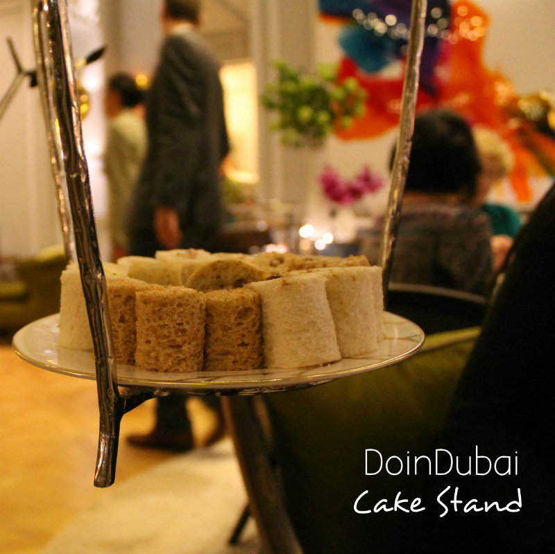 London ChristmasIMO Tea Suspended Sandwiches DoinDubai