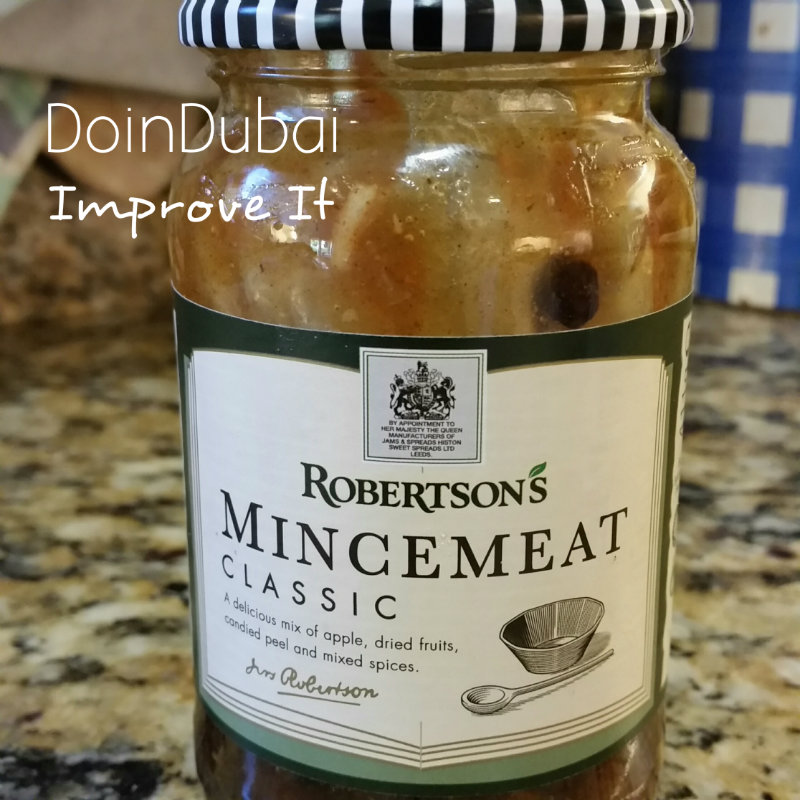 Mince Pies Ideas DoinDubai Robertsons Mince Meat