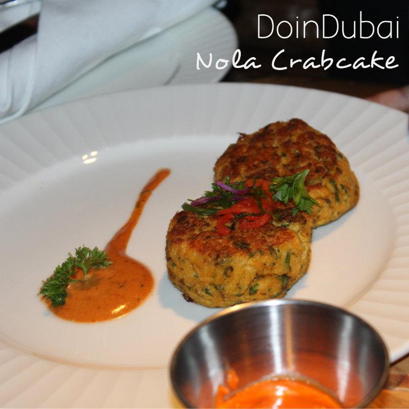 Nola Dubai DoinDubai Crabcakes