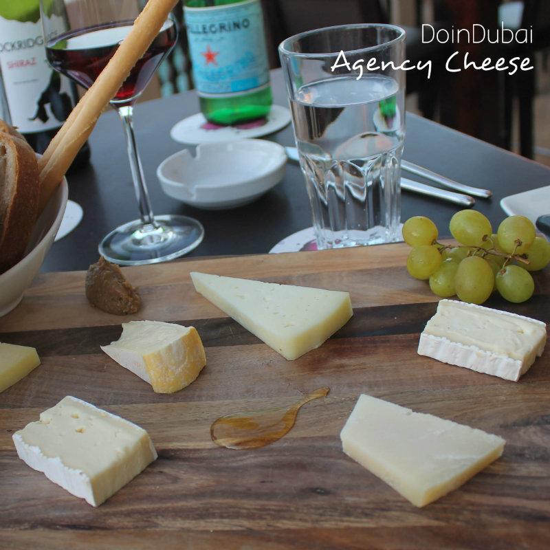 Agency Cheese and WIne Deal cheeses- DoinDubai