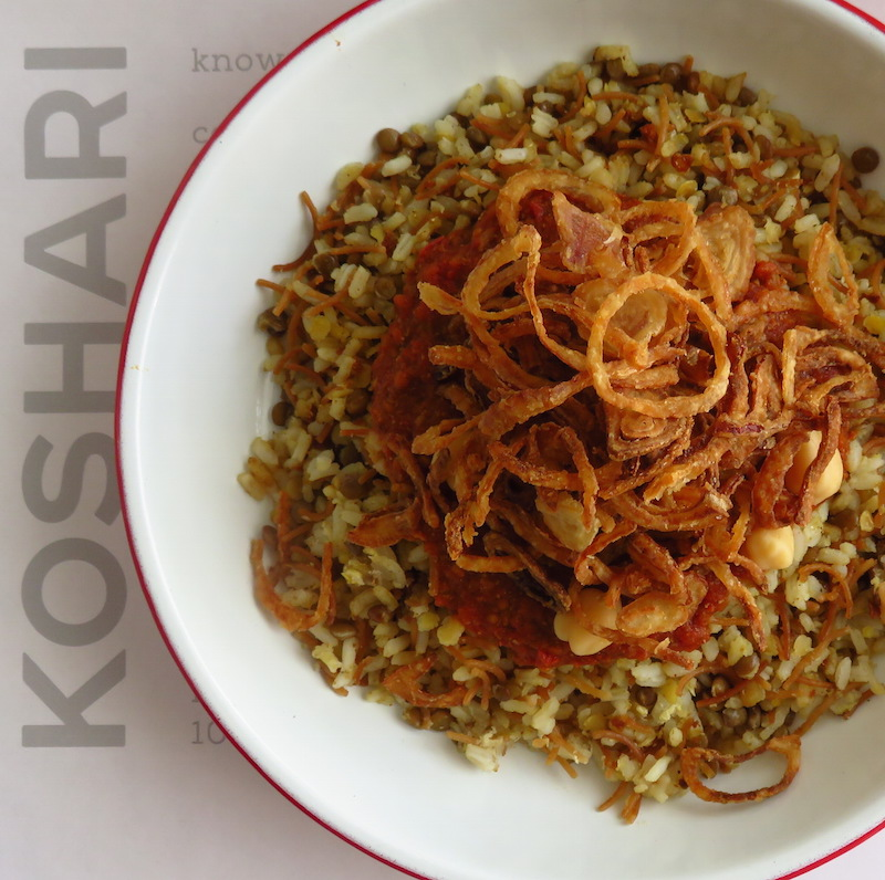 Koshari Point DoinDubai classic koshari