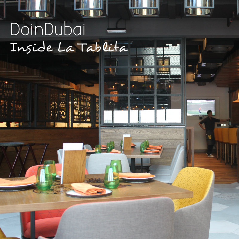 La Tablita Free Food interiors DoinDubai