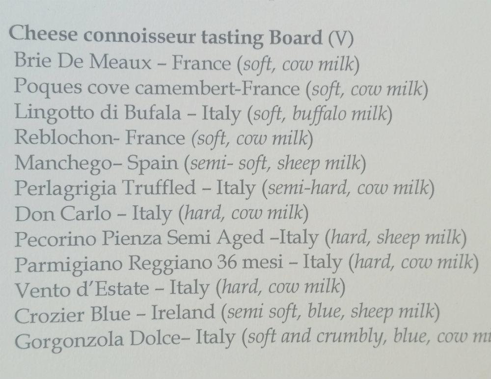 Agency deal post brunch doindubai cheeses list
