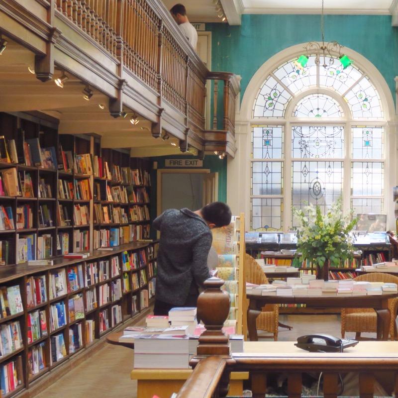 London's Best Cafes Daunt books
