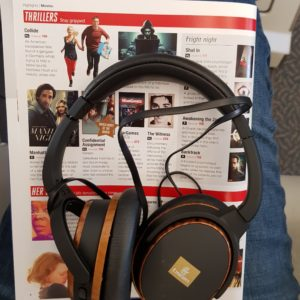 Emirates Business Class ICE headphones