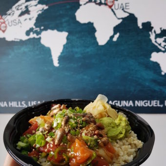 Image of Clean Eating Dubai poke bowl