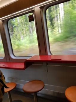 Image ofExploring Norway DoinDubai Buffet car train