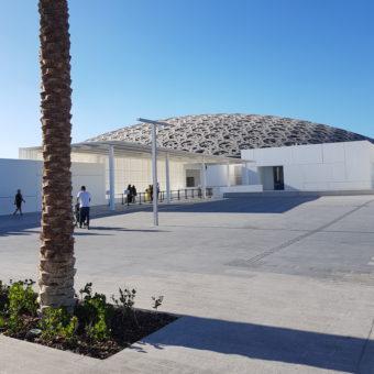 Image ofLouvre Abu Dhabi DoinDubai roof outside