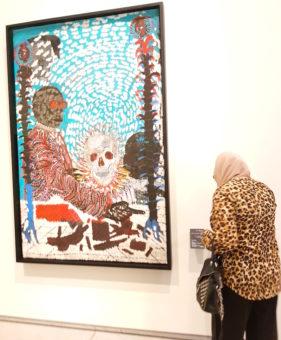 Image ofLouvre Abu Dhbai DoinDubai African painting