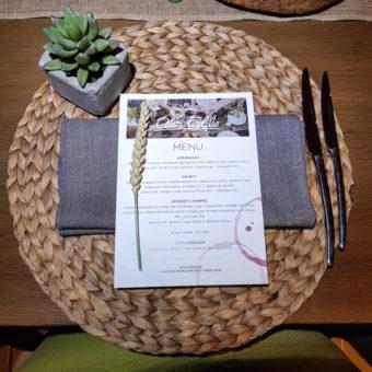Image ofOurTableUAE DoinDubai menu