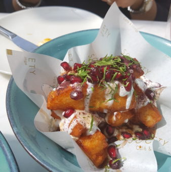 Image ofBest New Places to Eat DoinDubai Society Halloumi Fries