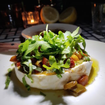 Image ofIts a Foodie World DoinDubai Carine Burrata