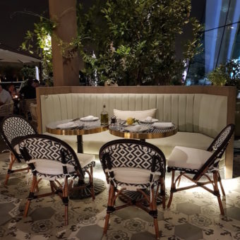 Image ofIts a Foodie World DoinDubai Carine Table on the Terrace