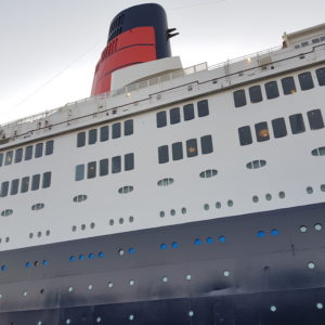 Image ofRamdan in Dubai Doindubai QE2 front view of ship