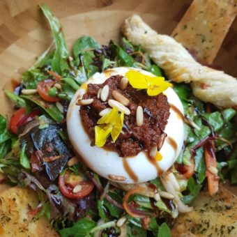 Walnut Grove Buratta salad DoinDubai